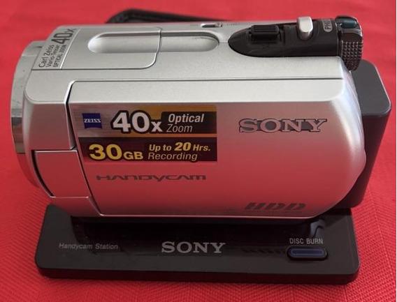 Filmadora Sony Handycam Dcr-sr42 Zom Óptico 40x Top De Linha