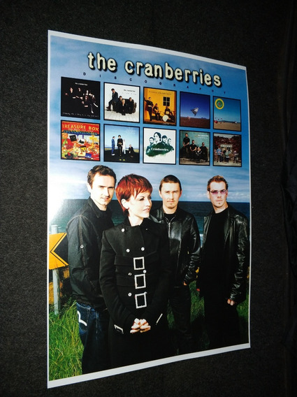 Cartaz Vinil The Cranberries Cd The Cranberries In The End