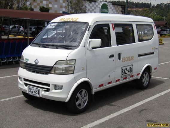 Chana Star Van Escolar 2 Mt 1300cc 4x2