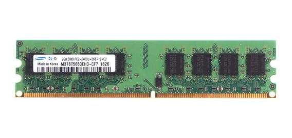 Memorias 2gb Ddr2 667 Y 800mhz Varias Marcas Intel Y Amd