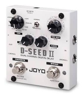 Pedal Joyo D-seed 2 Stereo Multi Delay Looper - Novo!!