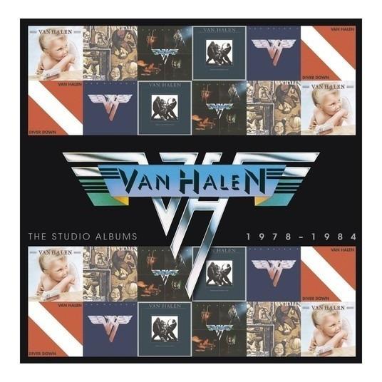 Van Halen - The Studio Albums 1978 - 1984 - Box 6 Cd