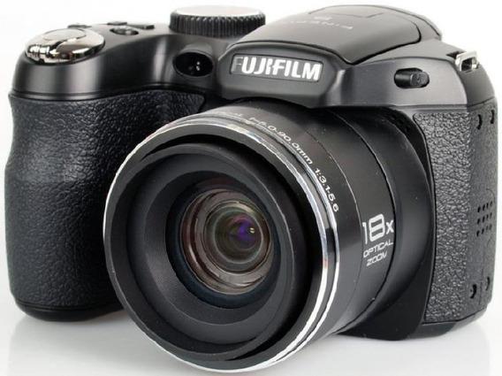 Câmera Fuji Finepix S2800 Hd Com Cartão Sd Kingston E Bolsa