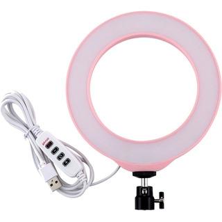 Anillo Ring Led De Luz 6 Pulgadas 16cm Frio Calor Neutra Usb
