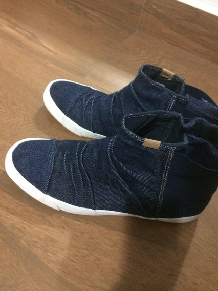 Tênis Keds Topkick Boot Jeans Marinho