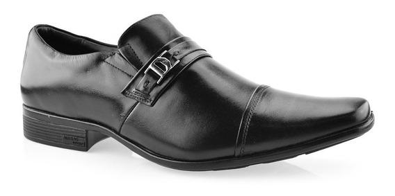 Sapato Social Masculino De Couro Jotapê 13122 Nº 44 Ao 47