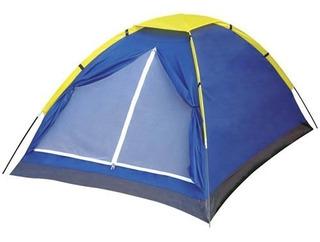 Barraca Camping Tenda Iglu 4 Pessoas Acampamento Praia- Mor