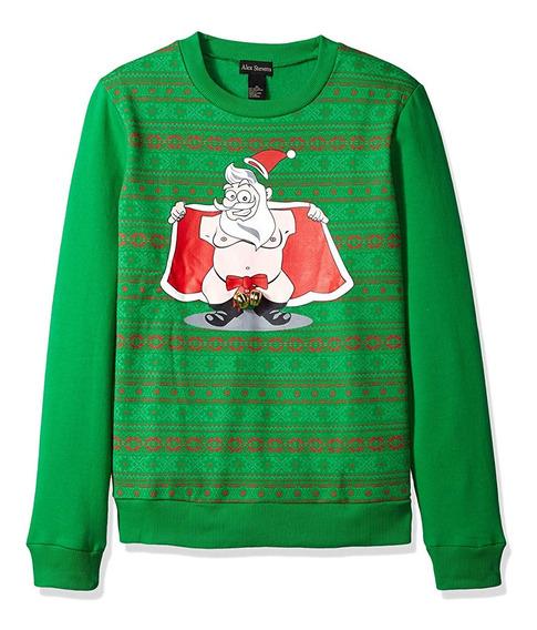 Suéter Feo Navidad Christmas Ugly Sweater Santa Mediano