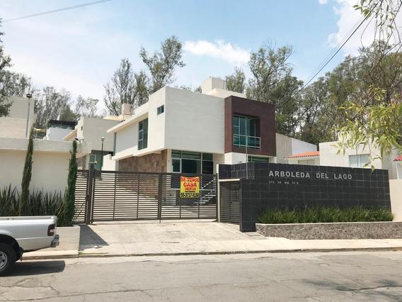 Nueva Residencia En Lago De Guadalupe.