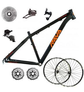 Kit Bicicleta Bike Mtb Pressure 27v Aro 29 15.5