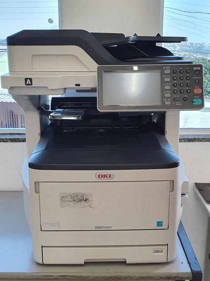 Impressora Multifuncional Colorida Oki Es8473
