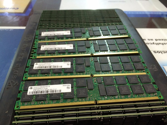 Memoria Ecc 2gb Pc2-3200r Hp Proliant Dl380 Ml350 Ml370 G4