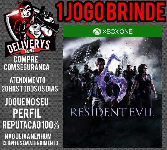 Resident Evil 6 Xbox One Midia Digital + 1 Brinde