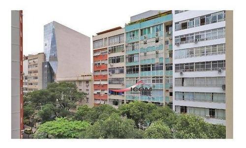 Kitnet Com 1 Dormitório À Venda, 25 M² Por R$ 550.000,00 - Copacabana - Rio De Janeiro/rj - Kn0240