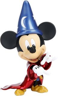 Figura Metal Mickey Mago Aprendiz 10 Cm Wabro