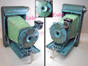 Kodak 1931 Verde Original Rainbow Hawk-eye Vest Linda Rara &