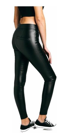 Pantalón Engomado Mujer Tiro Alto