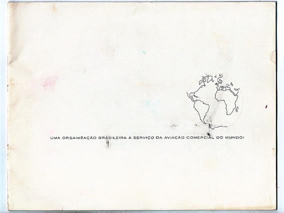 Sua Varig A Serviço Da Aviação Comercial Do Mundo - 1962