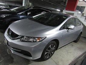 Honda Civic 2013 4p Ex Sedan Aut.