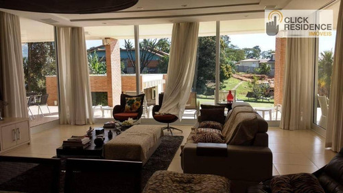 Imagem 1 de 30 de Chácara Com 3 Dormitórios À Venda, 5700 M² Por R$ 3.500.000,00 - Colinas Do Mosteiro De Itaici - Indaiatuba/sp - Ch0001