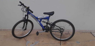 Bicicleta Top Mega Rodado 20 Doble Suspensión.