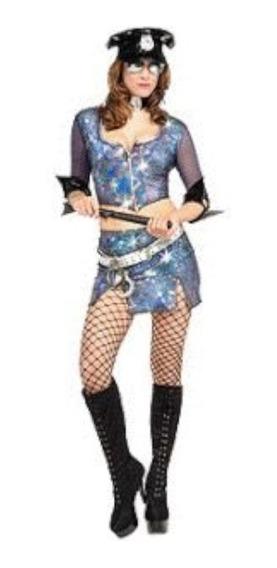 Disfraz Policia Infinito Adulto - Halloween Importado S