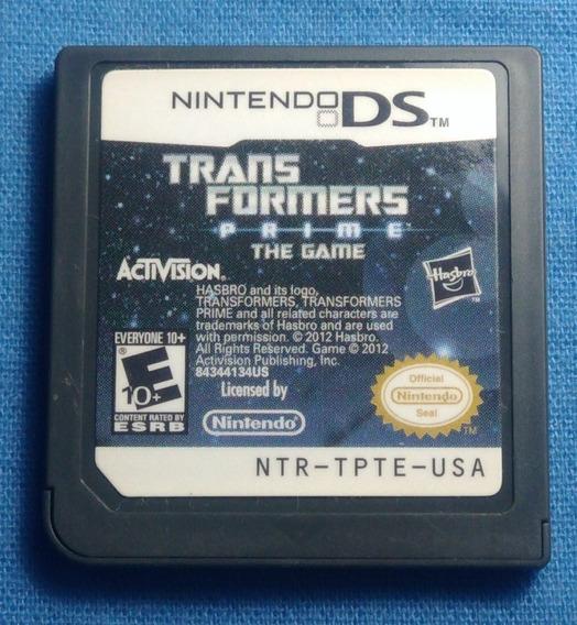 Transformers Prime The Game Ds - Cartucho, Frete 15$ Leia