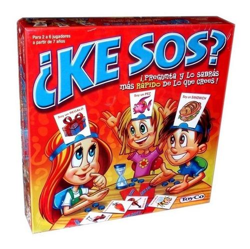 Imagen 1 de 4 de Juego De Mesa ¿ke Sos? Original Toy Co