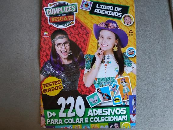Livro De Adesivos Cúmplices De Um Resgate Revista Figurinhas