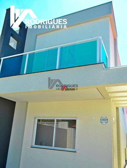Casa Residencial Para Locação, Jardim Do Lago, Atibaia - Ca0375. - Ca0375