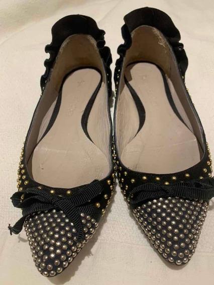 Zapatos Y Chatitas Jazmin Chebar Como Nuevas! Talle 37 Y 38