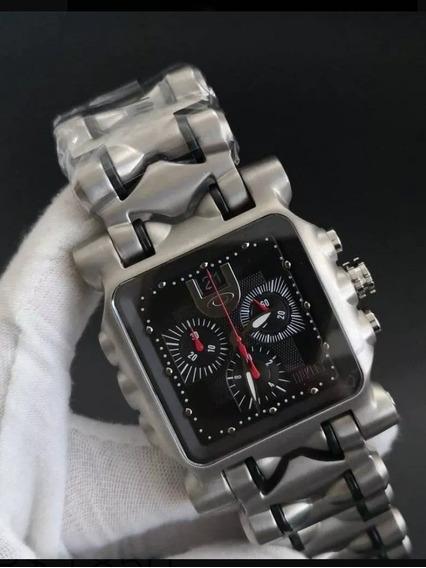 Relógio Oakley Tank Minute Machine + Frete Grátis