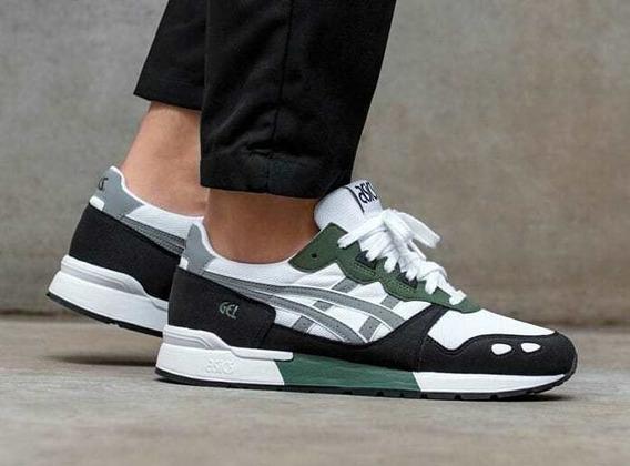 Tênis Asics Tiger Gel Lyte Branco Verde Sneaker Original