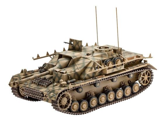 Tanque Revell Sd.kfz.167 Stug 03255 Maqueta P/armar Esc 1:35