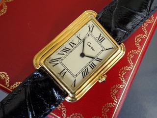 Reloj Cartier, Original, Mecanico, De Hombre, Modelo Stepped