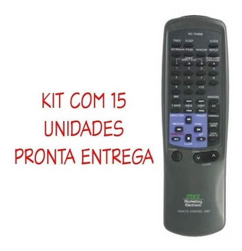 15un Controle Som Aiwa Rc Tn450ex Rc Tn999 Nsx Cx 1 3 Cds