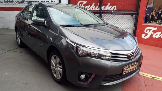 Corolla Gli 2015 Automatico Cinza Apenas 23.000km! Novo