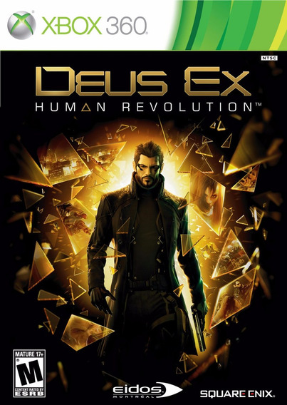 Deus Ex Human Revolution Xbox 360 Original Lacrado