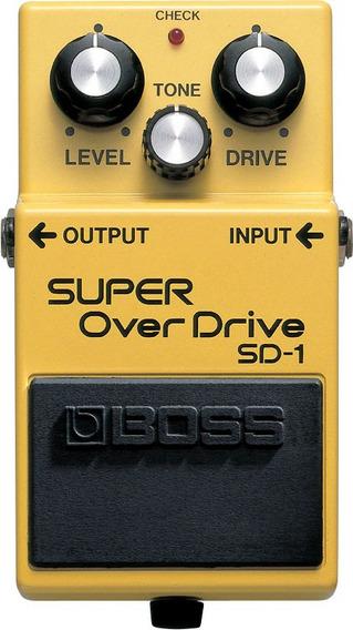 Pedal Boss Sd 1 Super Overdrive Sd1 Para Guitarra