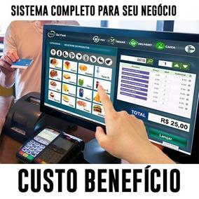 Sistema Comp Fiscal, Pedido Tablet, Batata Frita, Cone Pizza