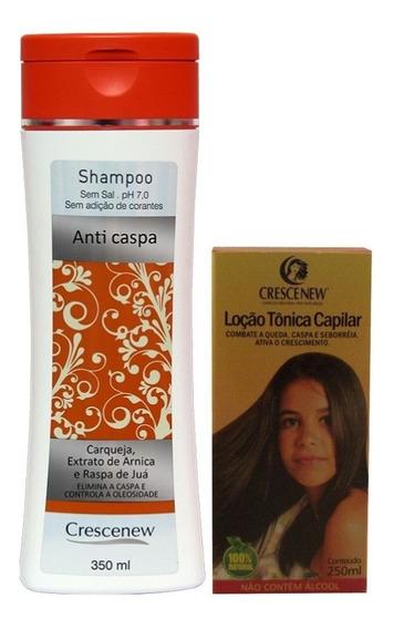 Shampoo E Tônico Anticaspa Seborreia - Kit Tratamento