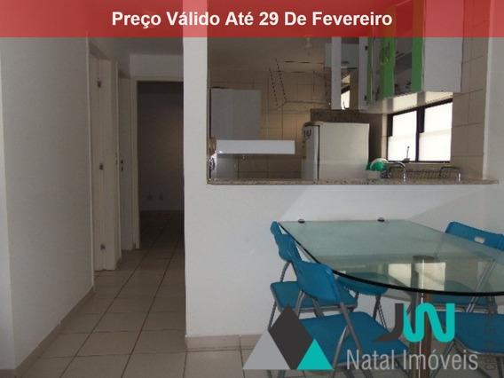 Residencial Therramare - Venda De Apartamento Em Ponta Negra, Natal, Com 2 Quartos Sendo 1 Suíte E Alguns Projetados - Ap00100 - 4280570