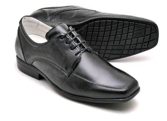Sapato Anti Stress Couro Carneiro Legítimo + Brinde Cinto