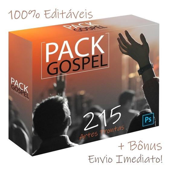 Pack Artes Prontas Psd Gospel Culto Eventos Templates Igreja