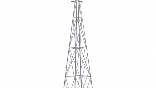 Imagen 1 de 4 de Torre 15mt Para Molinos De Viento 12´y Antenas Galvanizadas