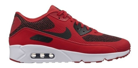 Zapatillas Nike Air Max 90 Ultra 2.0 Essential Rojas + Negro