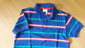 d918910c382 Camiseta Polo Lacoste Infantil - Calçados