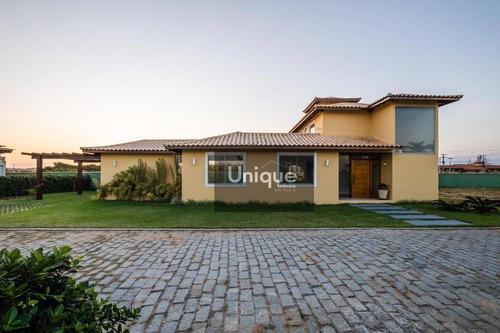 Casa Com 4 Dormitórios À Venda, 184 M² Por R$ 1.400.000,00 - Baia Formosa - Armação Dos Búzios/rj - Ca0716