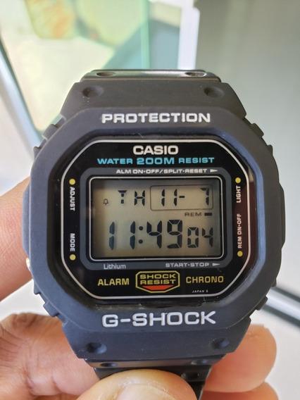Casio G-shock Dw-5600 Fundo De Rosca Impecável