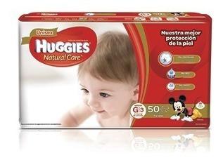 Pañal Huggies Natural Care X 50